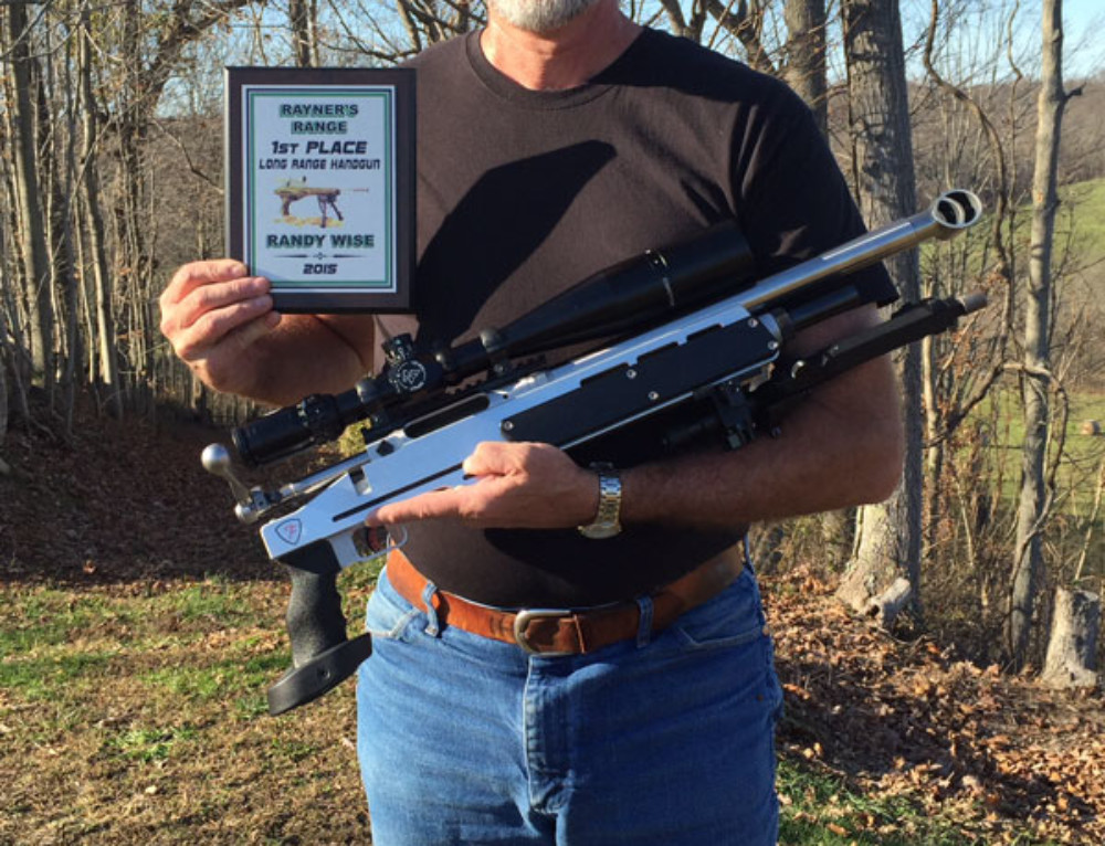 2015 Long Range Pistol Class Champion – Randy Wise